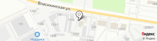 ТехноКом на карте Барнаула