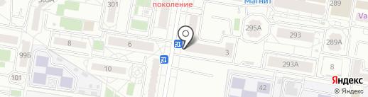 Альянс+ на карте Барнаула
