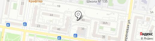 Строительное предприятие Алтайстрой, ЗАО на карте Барнаула
