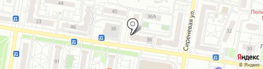 Амели на карте Барнаула