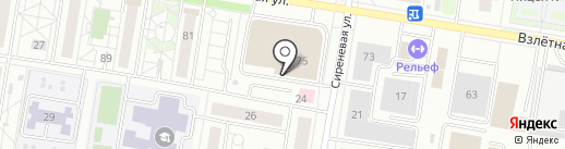 АртКарс на карте Барнаула