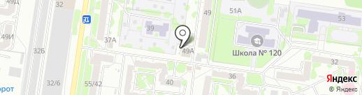 Швейная мастерская на карте Барнаула