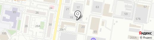 Авто Хирург на карте Барнаула