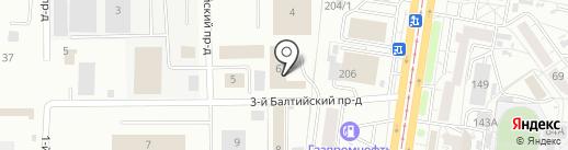 МедЭталон на карте Барнаула