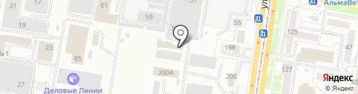Carservice на карте Барнаула