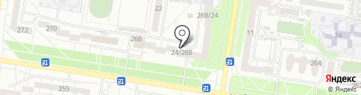 Аргументъ на карте Барнаула