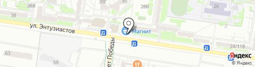 Мастерская по изготовлению ключей и заточке дисковых пил на карте Барнаула