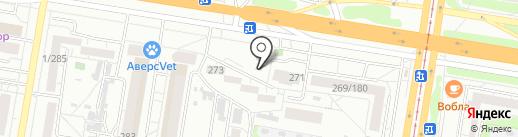 Бирхаус на карте Барнаула