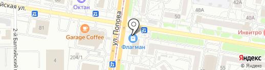 Агро-трейд на карте Барнаула