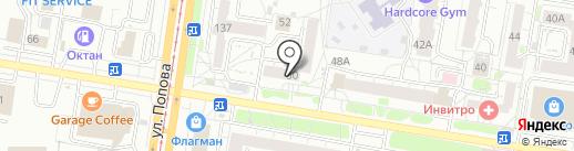 Ломбард Плюс на карте Барнаула