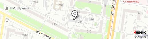 Кабинет ногтевого сервиса на карте Барнаула
