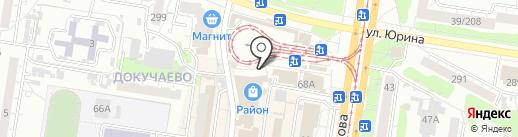 N story на карте Барнаула