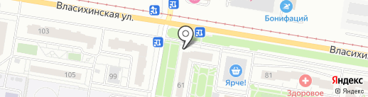 ШАУРМАN на карте Барнаула