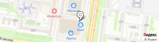 Николь М на карте Барнаула