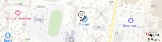 Отличник на карте Барнаула