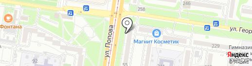 Boxberry на карте Барнаула
