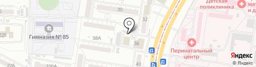 Мюнхен NIGHT на карте Барнаула