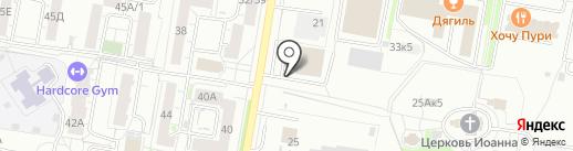 Работа для Вас на карте Барнаула