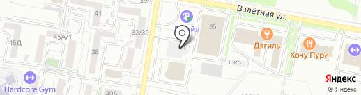 Sky-M на карте Барнаула