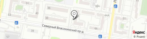 Единый центр обслуживания на карте Барнаула