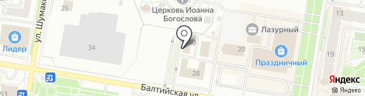 Диалог плюс на карте Барнаула