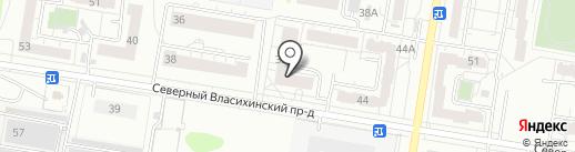 Лазурная, 24, ТСЖ на карте Барнаула