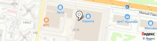 Пледы22.рф на карте Барнаула
