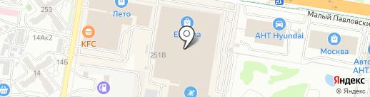 FJeans Denim Bar на карте Барнаула
