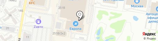 Банкомат, КБ Восточный, ПАО на карте Барнаула