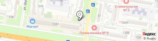 HARDCORE на карте Барнаула