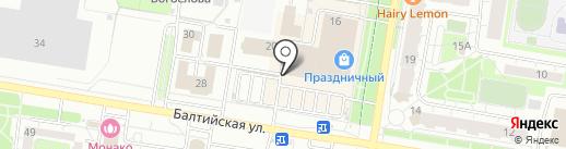 PLANET JEANS на карте Барнаула