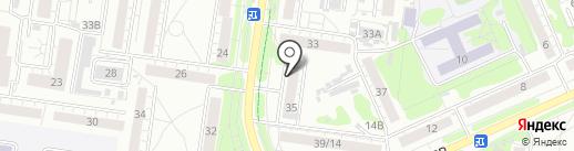 Мастерская по заточке маникюрного и парикмахерского инструмента на карте Барнаула