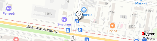 Шестое чувство на карте Барнаула