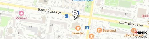 Mafia boutique на карте Барнаула