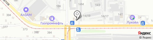 Altay real cars 22 на карте Барнаула