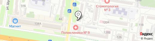 Банкомат, Совкомбанк, ПАО на карте Барнаула