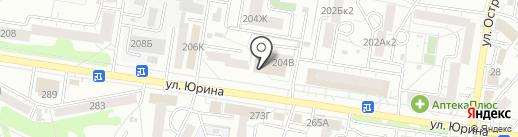 КДМ на карте Барнаула