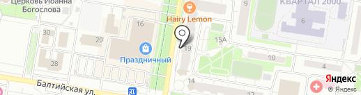 Мясник и Пекарь на карте Барнаула