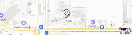 Логистик на карте Барнаула