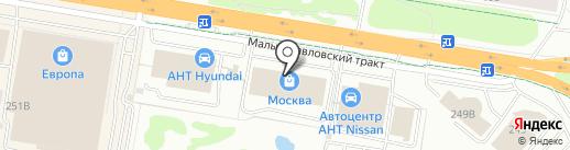 Шатура на карте Барнаула