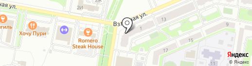 Эпи-Клиника на карте Барнаула