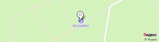 Партизан на карте Барнаула