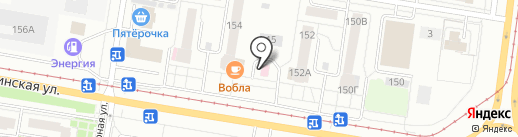 Карапуз на карте Барнаула