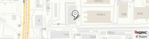 Автосервис-А на карте Барнаула