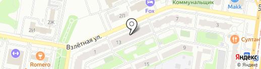 Абсент на карте Барнаула
