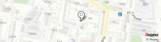 СервисКом на карте Барнаула