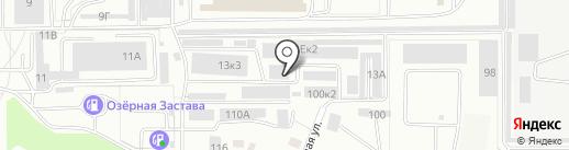 Производственная компания Дары Алтая на карте Барнаула