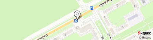Цветочный микс на карте Барнаула