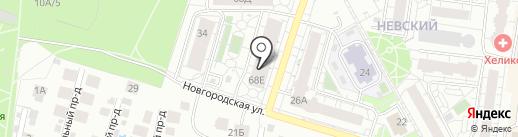 Центр лечения боли на карте Барнаула