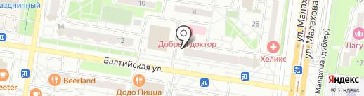 Glamuriki на карте Барнаула